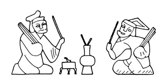 儿童射箭简笔画