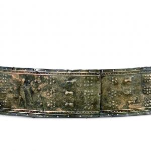 乌拉尔图狩猎纹青铜腰带