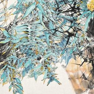 兰馨林幽-180X97CM-2010年