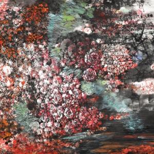 花繁锦簇-97X165CM-2014年