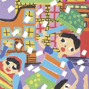 《下雨啦》-王炳众-少儿组-湖南长沙