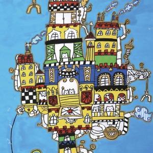 《猫咪的城市》-王晴-幼儿组-广东佛山