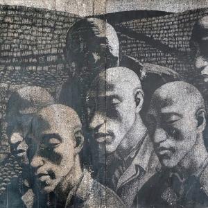 1988,79.3x56cm,木刻版画,1988年
