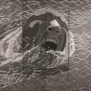 1999.2.1,488×732cm,木刻版画,1999年