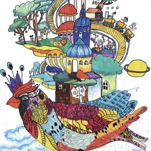 《未来的美丽世界》-陈岱徽-少儿组-广州