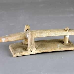 Pottery tool for pounding rice